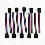 rgb led 4pin 10cm 10ks