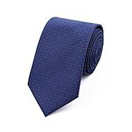 Bărbați Jacquard Toate Sezoanele Grid Poliester,Cravată