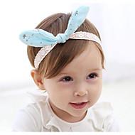 Barn / Småbarn polyster Håraccessoarer Rodnande Rosa / Fuchsia / Ljusblå