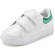 baratos Sapatos de Menino-Para Meninos Sapatos Couro Ecológico Primavera / Outono Conforto Tênis para Preto / Vermelho / Verde