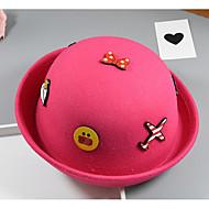 tanie Akcesoria dla dzieci-Kapelusze i czapki - Dla dzieci - Zima Jesień - Polyster Blushing Pink Beige Yellow Fuchsia Wine