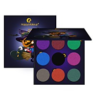 9 Oogschaduwpalet Droog Mat Glinstering Mineraal Oogschaduw palet Kattenoog make-up Smokey make-up Dagelijkse make-up Halloween make-up