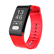billige Smartklokker-Smart armbånd T6 for iOS / Android Pekeskjerm / Pulsmåler / Vannavvisende Pedometer / Aktivitetsmonitor / Søvnmonitor / Vekkerklokke