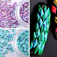 12色カラフルなスパンコールダイヤモンドレーザー光線療法スーツ中空交響曲
