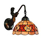 baratos Arandelas de Parede-OYLYW Tifani / Rústico / Campestre / Clássica Luminárias de parede Metal Luz de parede 110-120V / 220-240V 60 W / E26 / E27