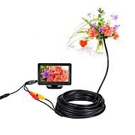billige Overvåkningskameraer-av endoskop kamera 5v mini kamera ntsc vanntett ip66 5.5mm linse 10m inspeksjon borescope slange pipe kamera nattesyn
