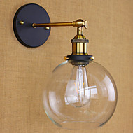 cheap Wall Lights-Tiffany / Rustic / Lodge / Antique Metal Wall Light 110-120V / 220-240V 40W