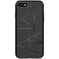 billiga Mobil cases & Skärmskydd-fodral Till Apple iPhone X iPhone X iPhone 8 Stötsäker Frostat Skal Linjer / vågor Mjukt TPU för iPhone X iPhone 8 Plus iPhone 8