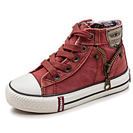 baratos Sapatos de Menino-Para Meninos Sapatos Lona Outono / Inverno Conforto Tênis para Laranja / Azul Escuro / Azul Claro
