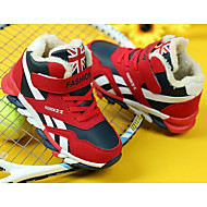 baratos Sapatos de Menino-Para Meninos Sapatos Courino Primavera Verão Conforto / Forro de fluff Tênis para Azul Escuro / Vermelho