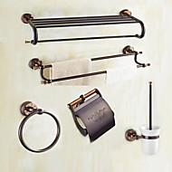 浴室用品セット / オイルブロンズ モダンスタイル