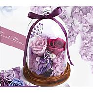 お買い得  造花-3 ブランチ ドライフラワー 永遠の花 テーブルトップフラワー 人工花