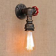 billige Vegglamper-220-240V AC 110-120 E26 E27 Tiffany Rustikk/ Hytte Antikk Enkel LED Vintage Moderne / Nutidig Retro Rød Traditionel / Klassisk Land