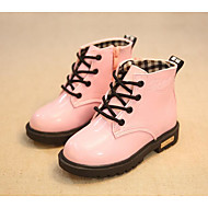 Girls' Shoes Leatherette Fall Winter Comfort Snow Boots Boots For Casual Blushing Pink Fuchsia Yellow Black