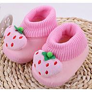Bebê sapatos Algodão Outono Inverno Conforto Primeiros Passos Rasos Para Casual Amarelo Vermelho Azul Rosa claro