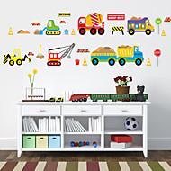 Transporte Adesivos de Parede Autocolantes de Aviões para Parede Autocolantes de Parede Decorativos, Plástico Decoração para casa Decalque