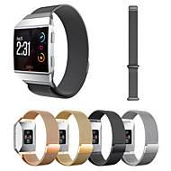 billiga Smart klocka Tillbehör-Klockarmband för Fitbit ionic Fitbit Milanesisk loop Metall Handledsrem