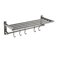 cheap Nickel Brushed Series-Bathroom Shelf Contemporary Stainless Steel 1 pc - Hotel bath Single