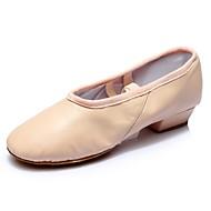 levne Taneční obuv-Dámské Boty na jazzové tance Syntetika / Personalizované materiály Podpatky Na zakázku Obyčejné Taneční boty Černá / Červená / Akt