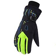 cheap Ski Gloves-Ski Gloves Men's Women's Full-finger Gloves Keep Warm Protective Cloth Ski / Snowboard Winter