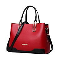 Women Bags Patent Leather Shoulder Bag Zipper for Event/Party Shopping All Seasons Blue Black Red