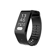 tanie Inteligentne zegarki-Inteligentne Bransoletka Pulsometr Wodoszczelny Spalone kalorie Krokomierze Rejestr ćwiczeń Śledzenie odległości Anti-lost Pomiar