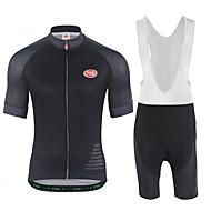 Muškarci Kratkih rukava Biciklistička majica s kratkim tregericama - Obala Crn Bicikl Kompleti odjeće