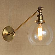 billige Vegglamper-Omgivelseslys AC 110-120 AC 220-240V E27 E26 Arkaistisk Tiffany Rustikk/ Hytte Ethnic Style Antikk Enkel Unikt design Free Form LED
