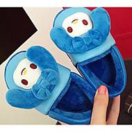 baratos Sapatos de Menina-Para Meninas Sapatos Courino Inverno Conforto Chinelos e flip-flops para Marron / Azul / Rosa claro