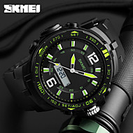 SKMEI Men's Sport Watch Digital Watch Digital Calendar Chronograph Water Resistant / Water Proof Dual Time Zones Alarm Stopwatch PU Band