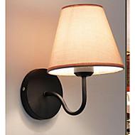 baratos Arandelas de Parede-Moderno / Contemporâneo Luminárias de parede Quarto Metal Luz de parede 220V 40W