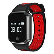 tanie Inteligentne zegarki-Inteligentne Bransoletka Zaprojektowany specjalne Modny design Water-Repellent Ekran dotykowy Kalendarz Krokomierze Obsługa wiadomości