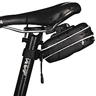 Bike Bag Bike Saddle Bag Reflective Strip Rain-Proof Waterproof Zipper Easy to Install Lightweight Bicycle Bag Waterproof Fabric Cycle Bag