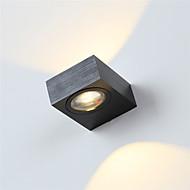 tanie Kinkiety Ścienne-Nowoczesny kinkiet 6w ledowy korytarz wewnętrzny w górę dół oświetlenie punktowe aluminiowe oświetlenie dekoracyjne
