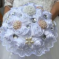 """結婚式の花束ブーケ結婚式の絹9.84 """"(約0.25cm)結婚式の付属品"""