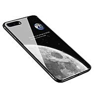 billiga Mobil cases & Skärmskydd-fodral Till Apple iPhone X / iPhone 8 Plus Mönster Skal Himmel Mjukt Härdat glas för iPhone X / iPhone 8 Plus / iPhone 8