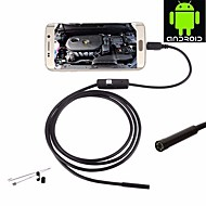 5.5mm lens 10m harde kabel usb endoscoop inspectie borescope camera waterdichte ip67 nacht video slang cam voor Android pc