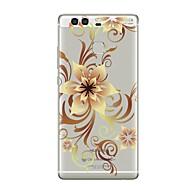 billiga Mobil cases & Skärmskydd-fodral Till huawei P9 / Huawei P9 Lite / Huawei P8 P10 Plus / P10 Lite / P10 Genomskinlig / Mönster Skal Blomma Mjukt TPU för P10 Plus / P10 Lite / P10 / Huawei P9 Plus