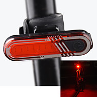billige Sykkellykter og reflekser-sikkerhet lys LED Sykling Oppladbar Lithium-batteri Lumens Usb Rød Sykling Utendørs