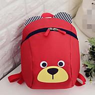 billige Skoletasker-Tasker Nylon Børne Tasker Lynlås for Afslappet Rød / Mørkeblå / Rosa