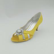 Chaussures de mariage - Noir / Bleu / Jaune / Rose / Violet / Rouge / Ivoire / Blanc / Argent / Or / Champagne - Mariage -Talons / Bout