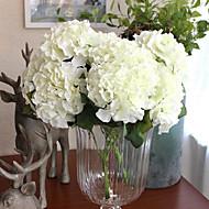 cheap -Artificial Flowers 1 Branch European Hydrangeas Tabletop Flower