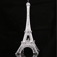 1pc Eiffel toranj vodio noćno svjetlo gumb za promjenu boje gumb baterije powered dekoraciju
