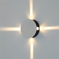 tanie Kinkiety Ścienne-Modern / Contemporary Lampy ścienne Na Metal Światło ścienne 85-265V 1W