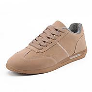 Hombre Zapatos Cuero de Cerdo / Tela Elástica Verano Confort Zapatillas de Atletismo Running Blanco / Negro / Gris IXjVhbp