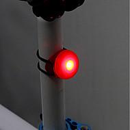 Baglygte til cykel LED Cykling Nemt at bære CR2032 Lumen Knap Batteri Cykling