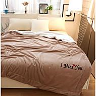 超柔らかい,プリント 創造的 ポリエステル100% 毛布