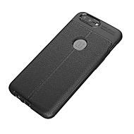 billiga Mobil cases & Skärmskydd-fodral Till OnePlus / Ett plus 3 5 / 3 Stötsäker / Frostat Skal Enfärgad Mjukt TPU för One Plus 5 / One Plus 3T / One Plus 3