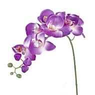 Kunstbloemen 1 Tak Pastoraal Stijl Orchideeën Bloemen voor op tafel