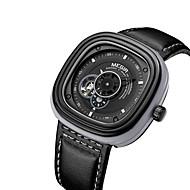 billige Kjoleur-MEGIR Herre Automatisk Selv-optræk Armbåndsur Sej Ægte læder Bånd Afslappet / Mode